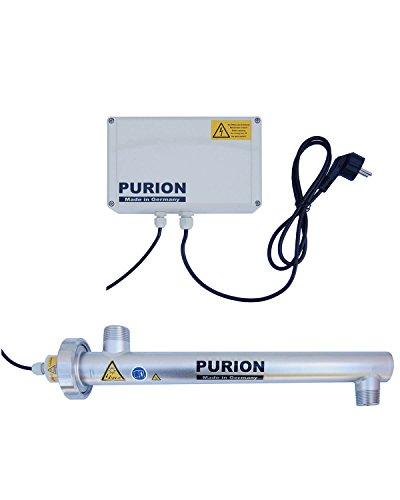 PURION 1000 UV Anlage Wasserfilter Desinfektionsanlage Wasseraufbereiter 17W 1.000 l/h