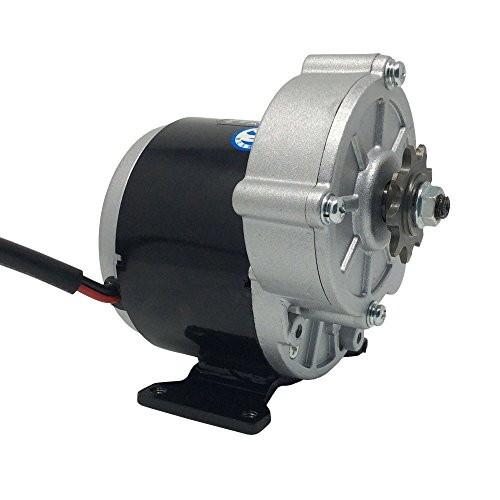 BEMONOC Electric Tricycle Motor MY1016Z3 36V 350W 300RPM DC Electric Bicycle Motor 9 Tooth Sprocket DIY