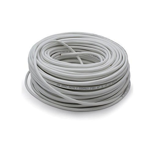 Vultech SC13102-50 Matassa Lan Categoria 5e FTP 50 Metri 23AWG Bobina di Rete Ethernet 50m Cat5e