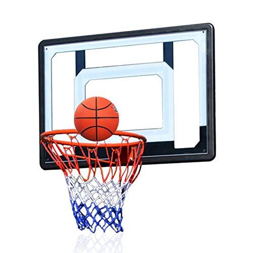 MHCYKJ Mini Canasta Interior Tablero De Aro Baloncesto Montado En La Pared para Niños Colgar sobre Puertasjuego Juego Al Aire Libre Y Oficina Jue