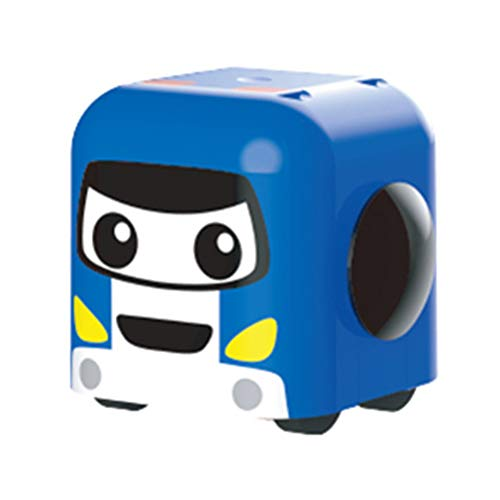 dontdo Jenga - Juguete de descompresión para niños y adultos, rotación de 360 grados, giroscopio para alivio de presión de coche, bloques apilables, color azul