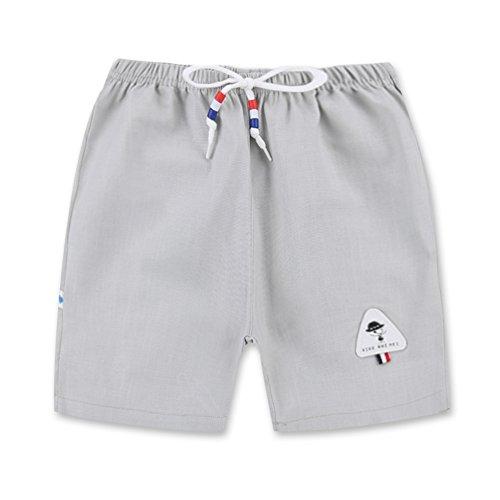 Gyratedream Kids Sommer Shorts Strandhose Kleinkind Jungen Mädchen Shorts Baumwolle Lässige Strandhose Sporthose Kleinkind Mädchen Shorts