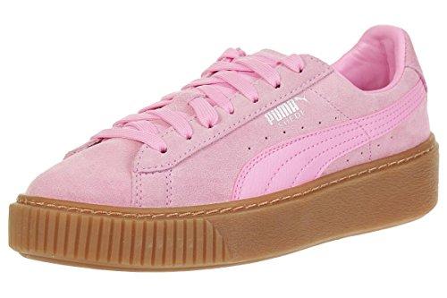 Puma Puma Kinder (Mädchen) Suede Platform JR Pink Rauleder 38