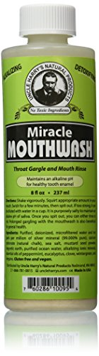 Uncle Harry's Natural Alkalizing Miracle Mouthwash -...