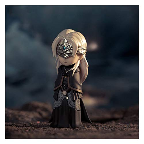 HAGENGOO Dark Souls Figuras Dark Souls Series Caja Huevo Adornos periféricos Black Soul/Fireproof Girl/Nendoroid Juguetes coleccionables, Multicolor.11 cm