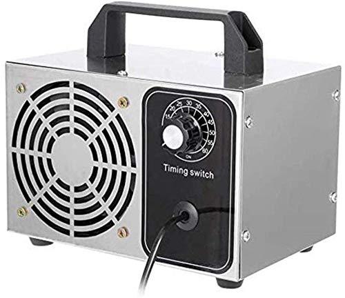 Generador De Ozono Comercial -10mg/h | Esterilizador Desodorante Purificador De Aire Profesional O3 con Temporizador para Hogar, Oficina, Humo,Automóviles Y Mascotas Oficina