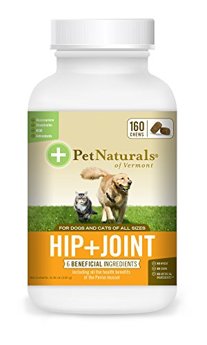 Pet Naturals® of Vermont - Hanche + Articulation pour Chiens et Chats 160 morsures