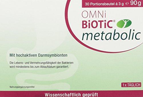INSTITUT ALLERGOSAN Deutschland (privat) Omni Biotic Metabolic Prob, 30 Stück