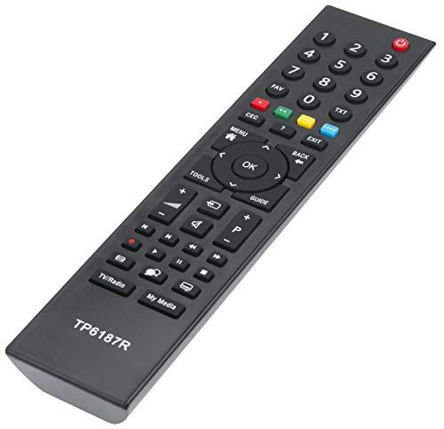 ALLIMITY TP6187R Reemplace el Mando a Distancia por Grundig TV 40VLE2012EC 42VLC7121C 42VLC7121C-TP3 46VLE7229BF