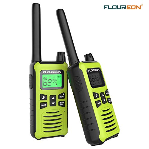 FLOUREON Rechargeable Walkie Tal...