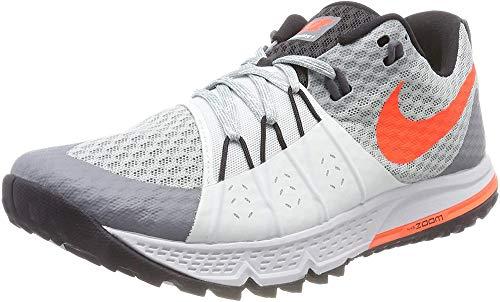Nike Wmns Air Zoom Wildhorse 4, Zapatillas de Running Mujer, Gris (Piedra Pómez Claro/Gris Ligero/Negro/Carmesí Total 004), 38 EU