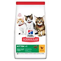 Hill's Science Plan Kitten Chicken 1.5kg Balanced complete food for kittens High-quality ingredients: for healthy digestion and unbeatable flavour All-round nutrition: with an antioxidant formula to support the immune system Taurine: to support heart...
