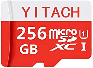 256GB Micro SD Card High Speed Class 10 Micro SD SDXC Card with Adapter