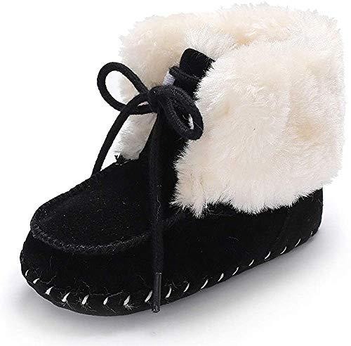 Zapatos Bebe Invierno, Primeros Pasos para Bebé Niña Niño Calzado Botas de Nieve 0-18 Mes