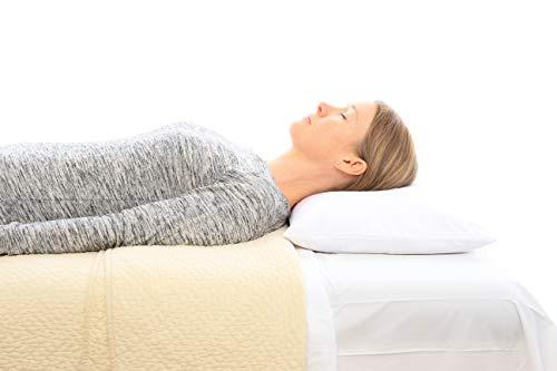 Infinite Nature Organic Buckwheat Pillow - Sobakowa Style - Removable Buckwheat. Plus Free Organic...