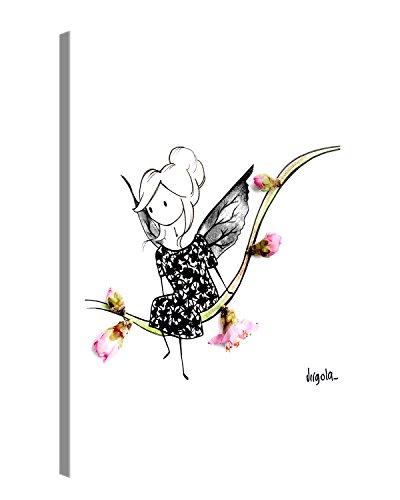 Gallery of Innovative Art - Virgola Art - VIVIANAMORI - 60x80cm – Larga Stampa su Tela per Decorazione murale – Immagine su Tela su Telaio in Legno – Stampa su Tela Giclée – Arazzo Decorazione murale