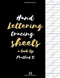Hand Lettering Tracing Sheets: Hand Lettering Tracing Workbook