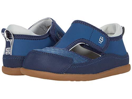 UGG Kids T Delta Closed Toe Fisherman Sandal, ENSIGN BLUE, 6 US Unisex Toddler