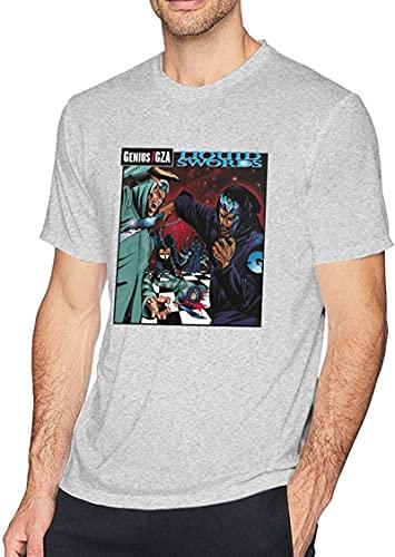 ASAMO Liquid Mens T-Shirt Gray