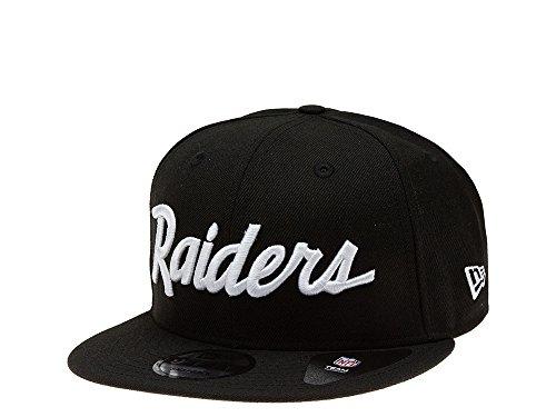 New Era Snapback Cap der Oakland Raiders - Historic schwarz - NFL Kappe