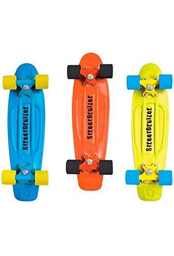 Sport One Skate Street Cruizer Skateboard, Street Cruizer, Arancione