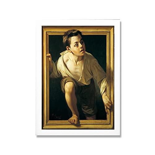 Mmpcpdd Abstrakt Affisch Undviker Kritik Wall Art Canvas Målning Tryck Nordiska Vardagsrum Heminredning-50X70Cmx1 Ingen Ram