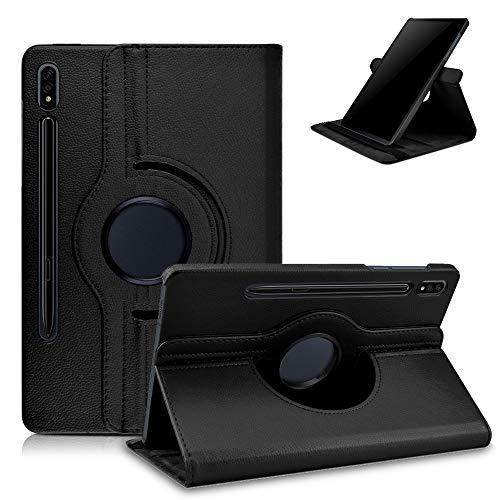 KATUMO Hülle für Samsung Galaxy Tab S7 11 Zoll SM-T870/T875 Schutzhülle Ultra Dünn mit Auto Schlaf/Wach Smart Cover für Galaxy Tab S7 Hülle Drehbar SM-T870/T875