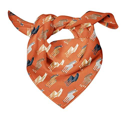 Bimba Pañuelos de seda impresos para el cuello de la bufanda del pelo del verano del abrigo puro