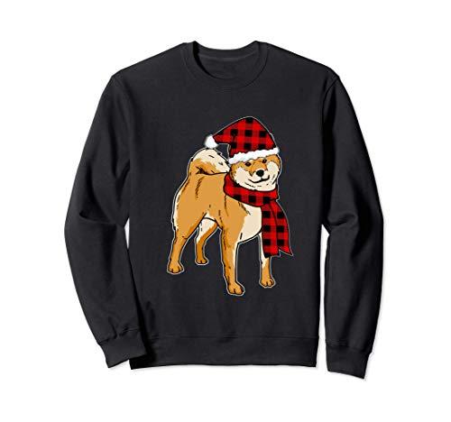 Divertido Shiba Inu Navidad Regalo Perros Sudadera