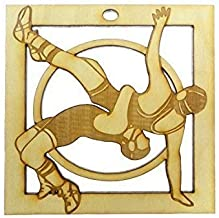 Wrestling Ornament - Personalized FREE