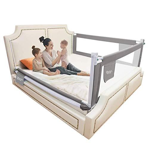 YouYou-YC 3-zijdig bed Rails voor peuters nachtkastje met wasbare cover veiligheid beschermend verticale heffen bed Barrier, 3 kleuren, 6 maten