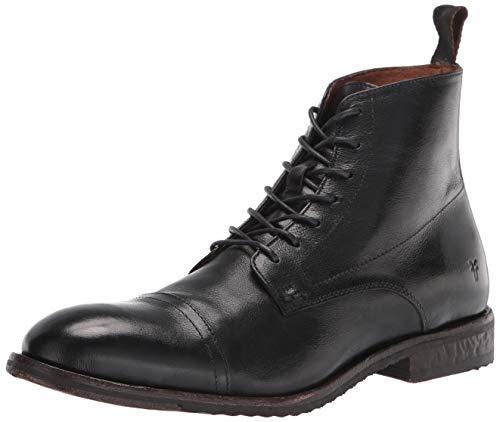 Frye Men's Grant Lace Up Combat Boot, Black, 9