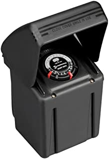 Intermatic ML121RT Low Voltage 121-Watt Power Pack with Timer, Black