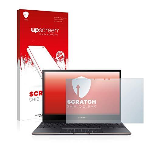 upscreen Protector Pantalla Compatible con ASUS Zenbook Flip S UX371EA Película Protectora – Transparente, Anti-Huellas