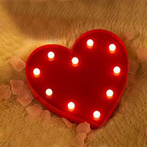 Led Modelado Luces Inglés Letras Decoración Boda Confesión Props San Valentín Luces Decorativas