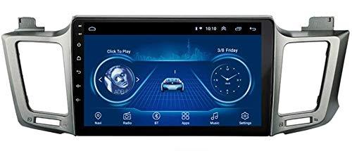 9 Pulgadas Autoradio GPS Navigation Car Stereo Player Mirrorlink- para Toyota Rav4 2013-2018, con Bluetooth Sat Nav Android WiFi FM USB Nav 2 DIN