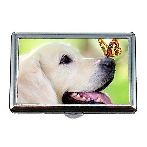 Zigarettenetui (King Size), Shih Tzu Hund, RFID-Blockierung Kreditkarteninhaber