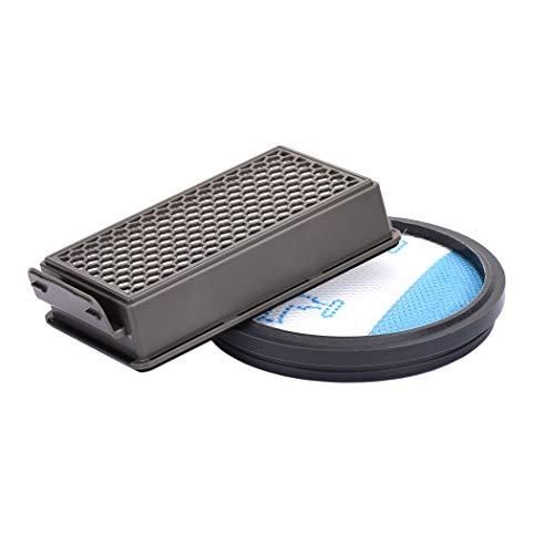 Jajadeal HEPA Filter für Rowenta Moulinex Tefal Compact Power Cyclonic Staubsauger, Ersatzfilter Zubehör für Rowenta RO3731EA Staubsauger