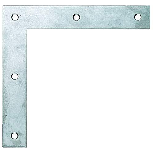 GAH-Alberts 361105 Eckwinkel | Edelstahl | 120 x 120 x 20 mm | 10er Set