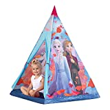 John Disney Frozen 75107A - Tipi - Tienda de campaña para niños, diseño de Frozen 2, Color Morado