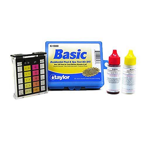 5 Way Chemical Testing Strip Kit Tester for Chlorine & Bromine Spas & Tubs