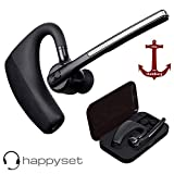 Bluetooth Headset 4.2 für Handy zum Telefonieren 2 Handys Geräte mit Mikrofon Mobiltelefon Business Auto Büro Etui universal iPhone 6s 7 Plus X 8 XS XR 11 Samsung Galaxy S7 S8 S9 S10 J5 Huawei P20 P30