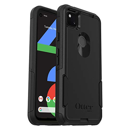 OtterBox Commuter Series Case for Google Pixel 4a (ONLY, Not Compatible with 5G Version) - Black