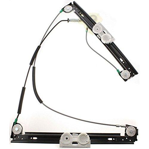 AP DISTRIBUTION Mécanisme de lève-vitre électrique Avant Droit pour Mini Cooper Cabriolet R50 R52 R53 = 51337039452 67626955876 7039452