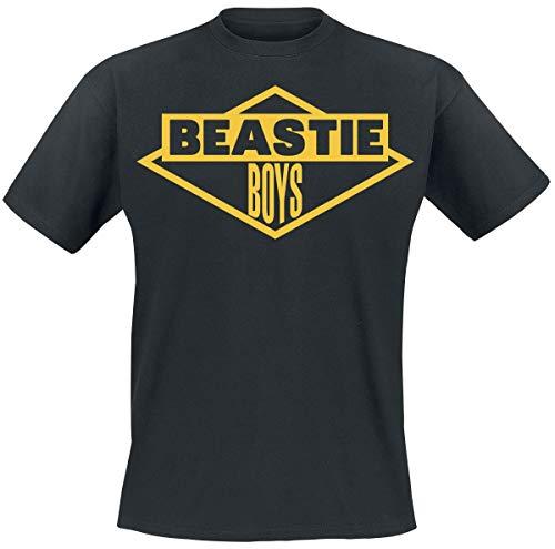 Beastie Boys Logo Männer T-Shirt schwarz XL