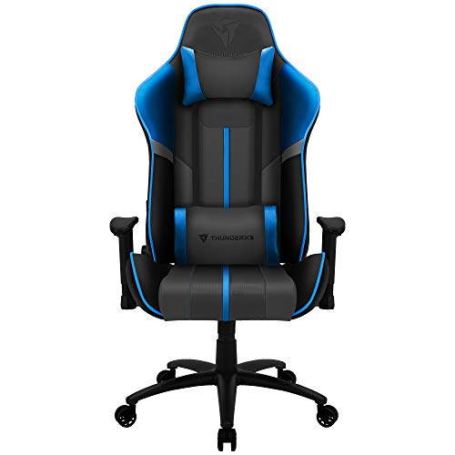 ThunderX3 BC3 BOSS, silla gaming tecnología AIR, transpiración total, azul