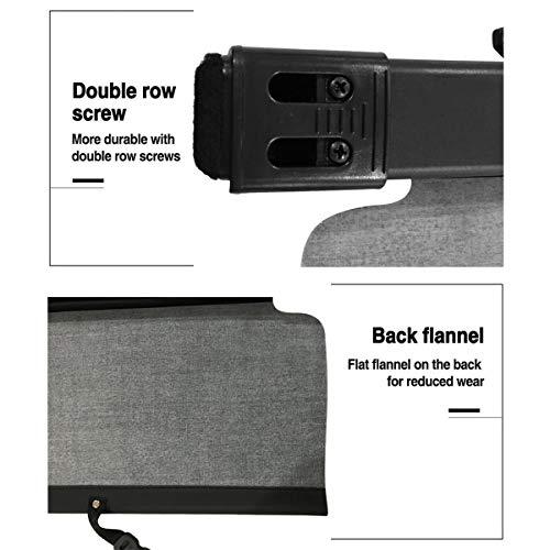 Autoxrun Black Cargo Cover fits 2014-2018 Toyota Rav4 Retractable Security Cover