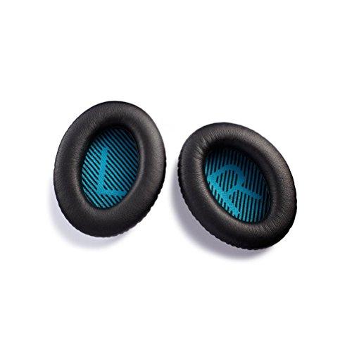 WINOMO Ersatz Ohr Polster Kissen für BOSE QC25 QC2 QC15 AE2 Kopfhörer (schwarz)