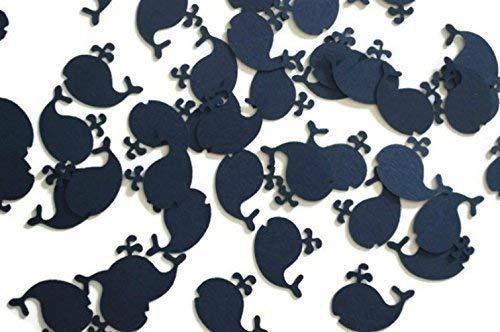 Whale Nautical Navy Blue Confetti - 100 Pieces