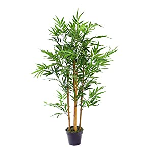 Best Artificial 3ft Green Bamboo Tree Office Home Conservatory Plant